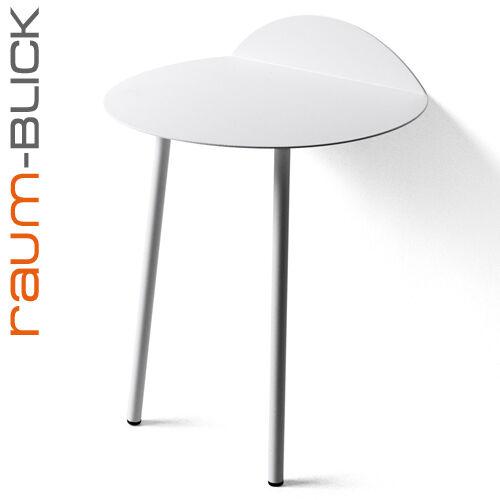 menu design Yeh Beistelltisch weiß nieder H 52,5 cm Tisch Anlehntisch