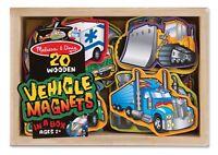 Wooden Magnetic Vehicles 8588set Of 20 Melissa & Doug