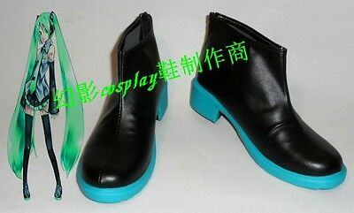VOCALOID Hatsune Miku cosplay shoes boots Custom-Made hot