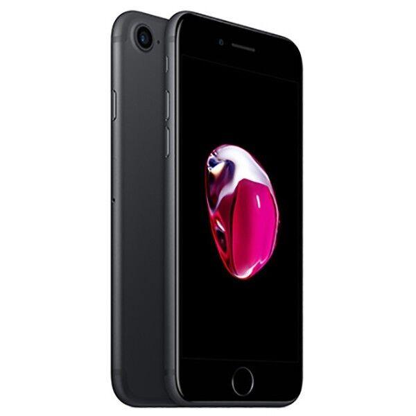 APPLE IPHONE 7 256GB NERO OPACO GRADO A/B + ACCESSORI - RICONDIZIONATO
