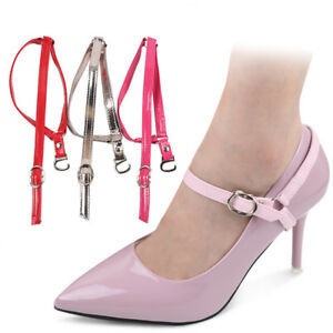 b243d8128f0 Detachable Shoe Straps Shoelace Belt Laces To Hold Loose High Heeled ...