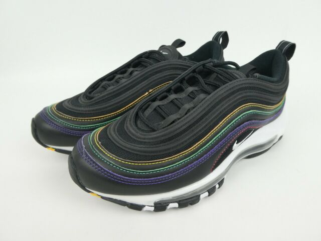 Nike Air Max 97 Shoes Black White Psychic Purple Womens Size 6