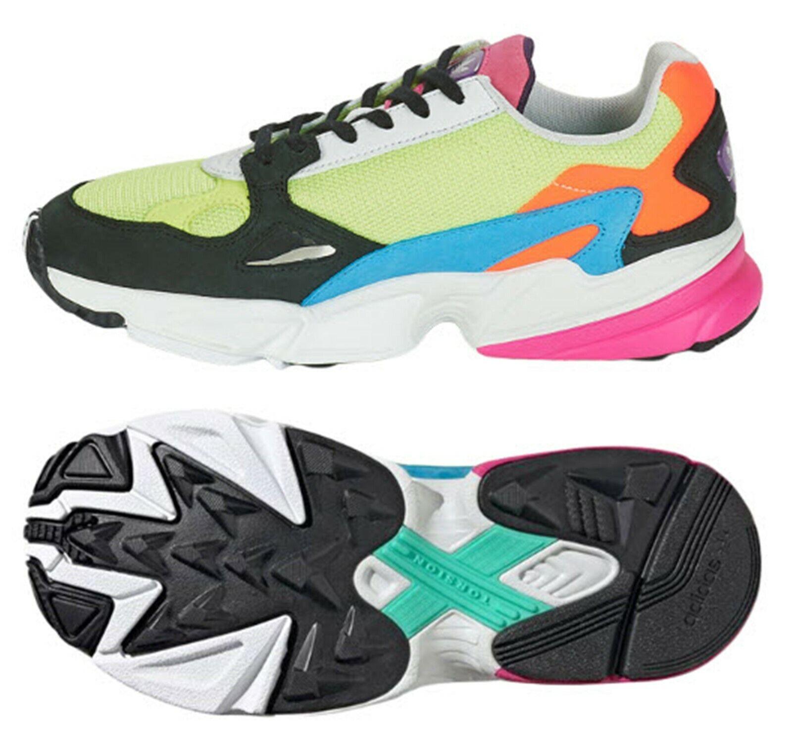 Adidas Mujer Originals Zapatos Deportivos Tenis Deportivas Informales Negro Correr Falcon Zapato CG6210