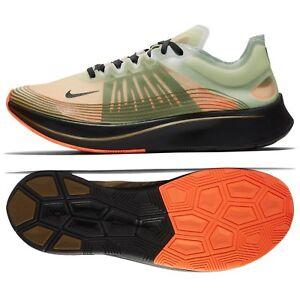 Detalles acerca de Nike Zoom Fly SP Flight Jacket AJ9282-200 medio  Oliva/Negro Para hombres Zapatos para correr- mostrar título original