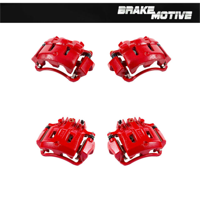 Rear Brake Calipers Rotors Pads For 2000 2001 2002 2003 2004 EXCURSION F250 F350