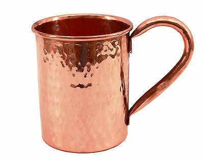 Moscow Mule Indian Hammered Pure Solid Copper Cup Mug For Use Bar Beer Hotel