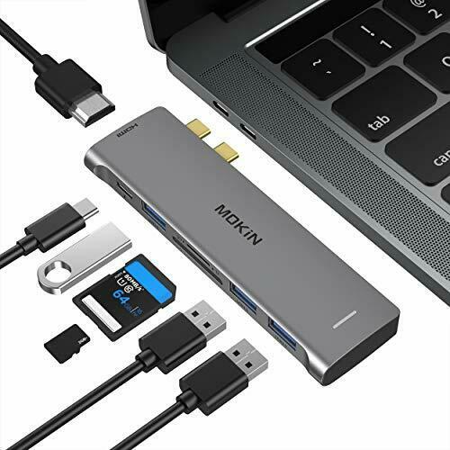 MacBook Pro Adapter, 7 IN 2 USB C Hub to HDMI Adapter for MacBook Pro