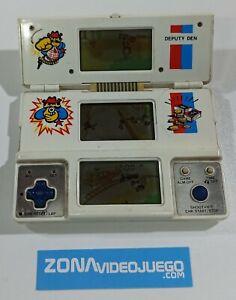 Juego electronico LCD, Deputy Den, Tri-Screen, Vtech 1982.