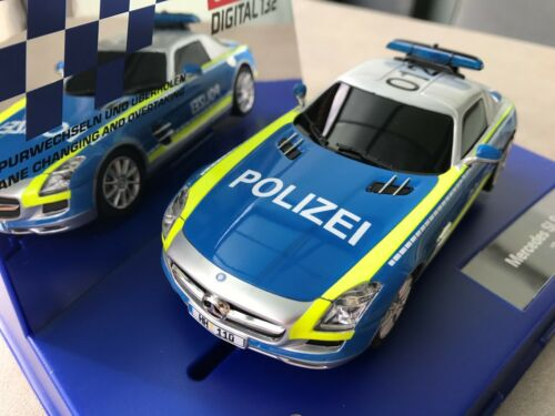 Carrera Digital 132 30793 Mercedes SLS AMG Polizei Blinklicht NEU OVP