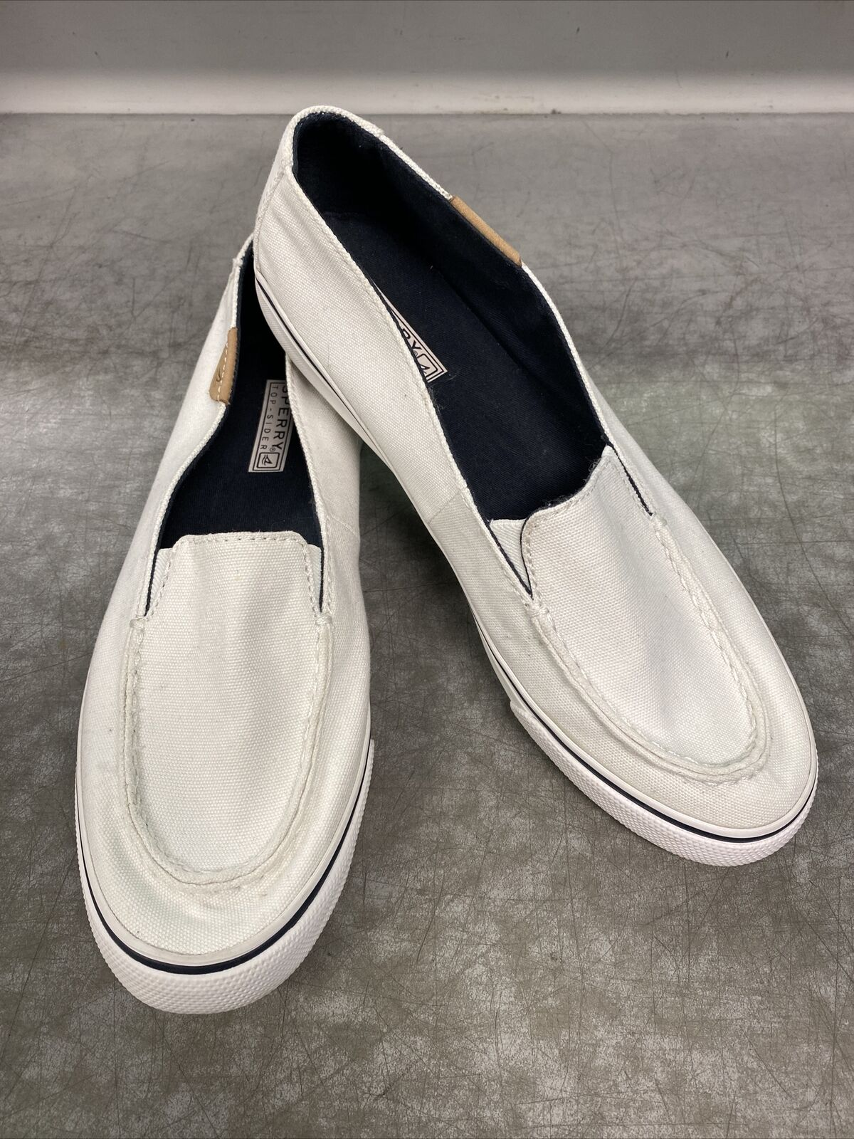 Sperry Top Sider STS93223 Casual Comfort Shoe Women's Size 9.5 White