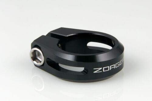 New ZOAGEAR Road MTB Bike Bicycle Cycle Seatpost Seat Post Clamp 31.8mm Black
