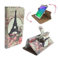 Cubot Cheetah 2 - Handy Schutz Hülle Buch Tasche - 360° Paris Rose L