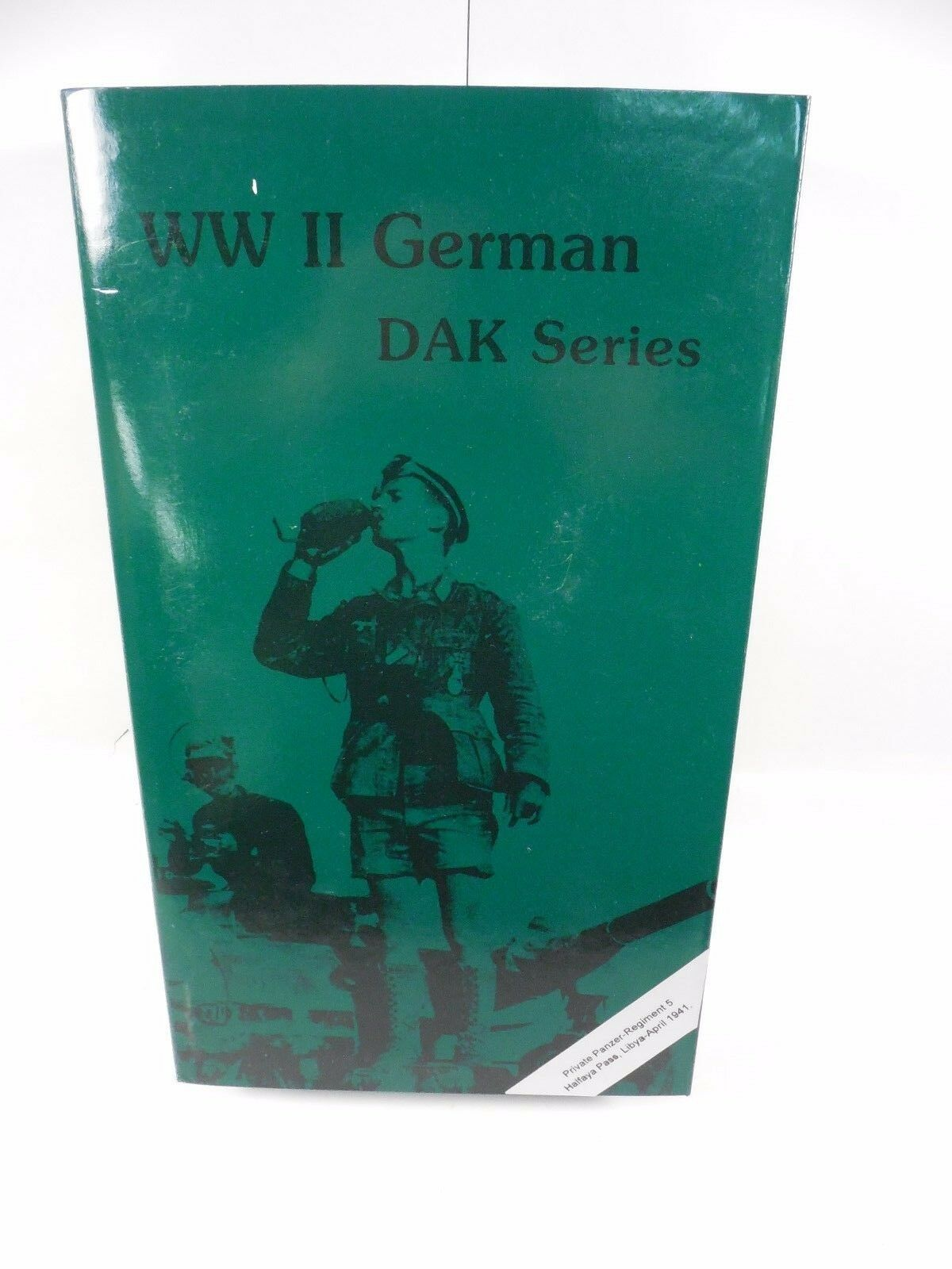 BRAND NEW WWII GERMAN DAK PRIVATE PANZER REGIMENT 5 12  FIGURE MIB IN THE PAST