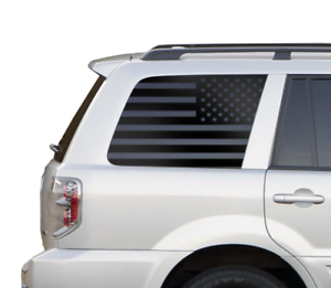 Details about Honda Pilot USA Flag Decals - Side Window Fits 2002-2008  American Flag HP6