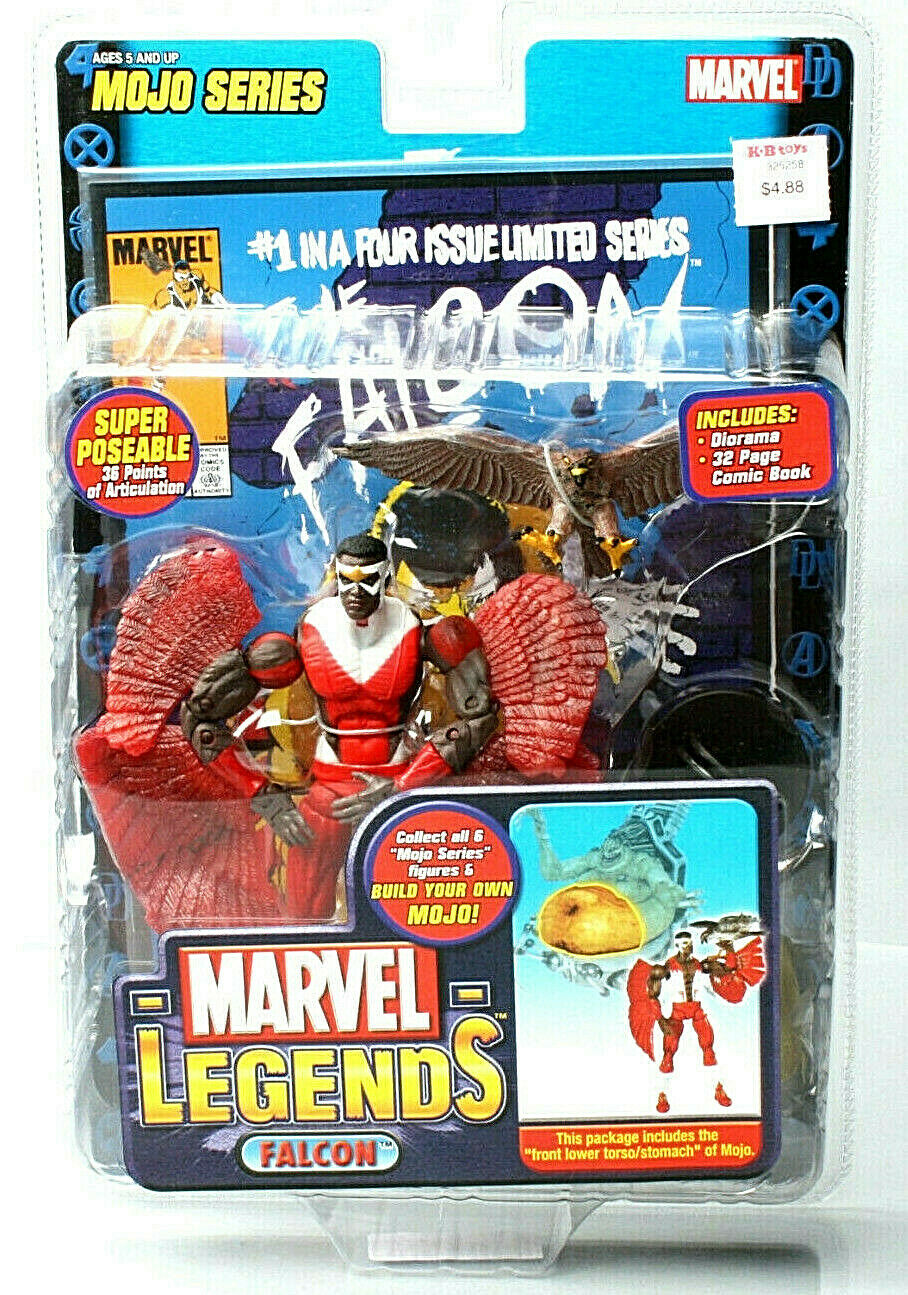 Marvel Legends FALCON Variante figura PVC 16cm
