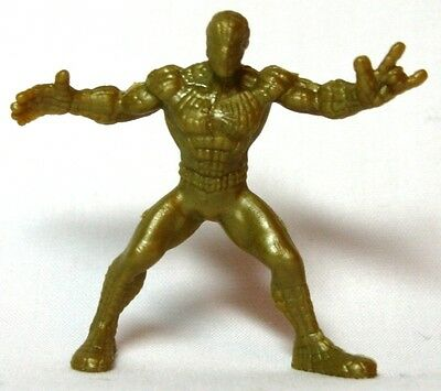 Hasbro Marvel Handful of Heroes Wave 1 - Spider-Man B Standing Solid Gold Dull