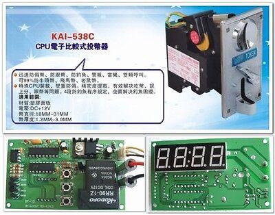 arcade CPU coin selector (acceptor ) with timer board