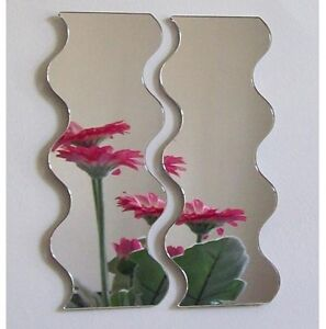 Pair-of-Wave-Acrylic-Mirror-Several-Sizes-Available