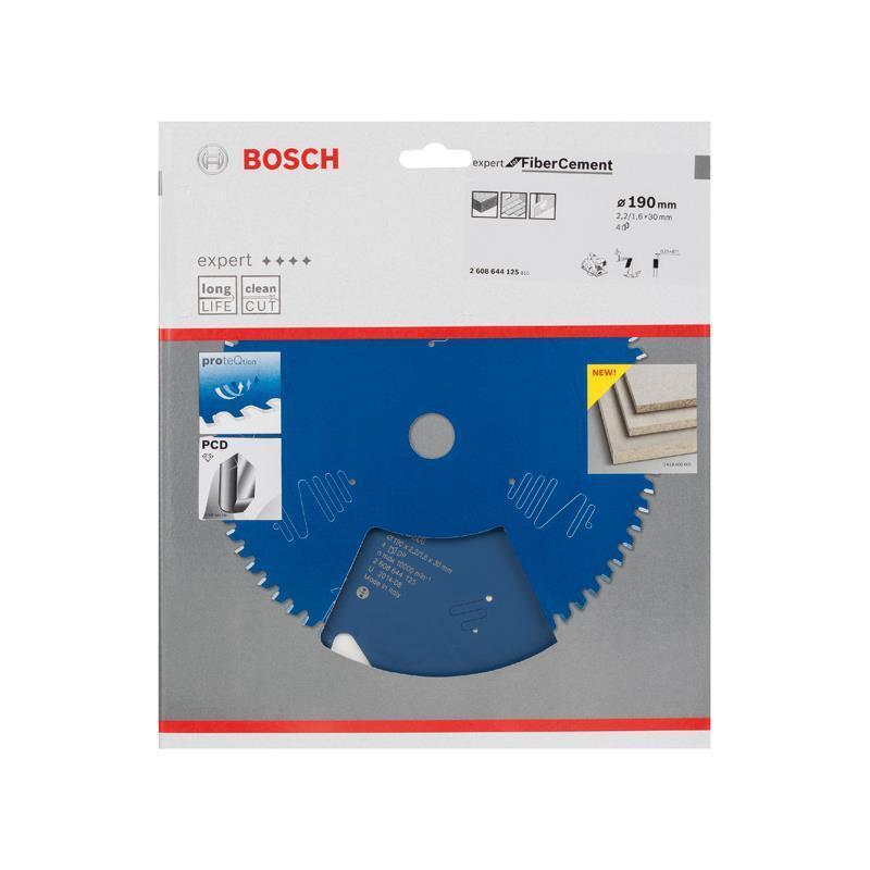 Bosch HM-Sägeblatt 190x2,2x30 Z4 2608644125 Expert f. Fiber Cement Handkreissäge