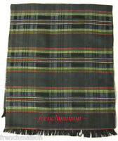 Borsalino Wool Fine Italian-made Scarf Scottish Pattern Gift For Him Rare