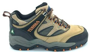 Terra-Mens-Safety-Work-Boots-Oil-Resistant-CSA-Approved-Steel-Toe-Size-8-EUC