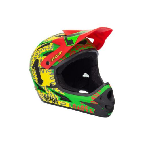 Full Face Helm rasta Radhelm Seven 7 Protection 7iDP M1 50:01 Helmet