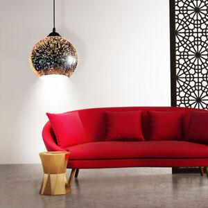 ... Design LED Pendelleuchte Schlafzimmer 3D Effekt Schirm Decken
