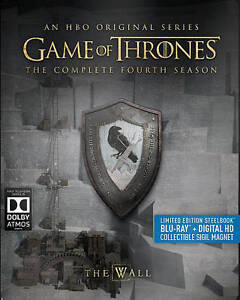 11 GAME OF THRONES Fourth Season Steelbook Limited New Blu-Ray FREE ...
