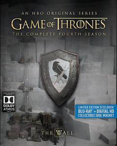 Game of Thrones: Fourth Season 4 (Blu-ray Disc, 2016, 4-Disc Set ...