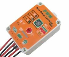 waterproof Solar Light controller 12V 24V 10A PWM Battery charge Regulator