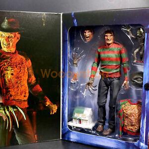 "Nightmare on Elm Street Ultimate Freddy Krueger 7/"" Action Figure NECA Collection"