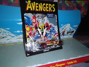 HOT-WHEELS-1-7-BEDLAM-THE-AVENGERS-THOR-NEUF-EN-BOITE