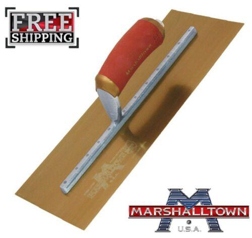 """Marshalltown 14/"""" X 5/"""" permashape finition Truelle d/'Or en Acier Inoxydable plafonneur"""