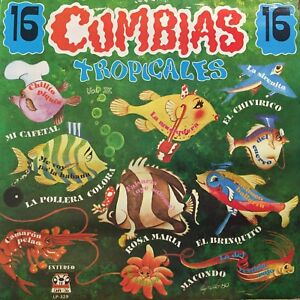 Cumbias-tropicales-16-HITS-Latin-Cumbia-colombia-Dancefloor-burner-sonidero-LP