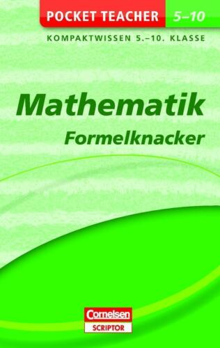 1 von 1 - Pocket Teacher Mathematik - Formelknacker 5.-10. Klasse von Barbara Weber (2012,