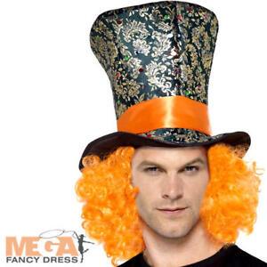 Top-Hat-Adults-Fancy-Dress-Wonderland-Fairy-Tale-Mens-Ladies-Costume-Accessory