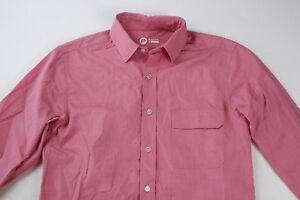 Brand New! White Large OUTLIER Two-Ply Blazed Cotton Button Down Shirt
