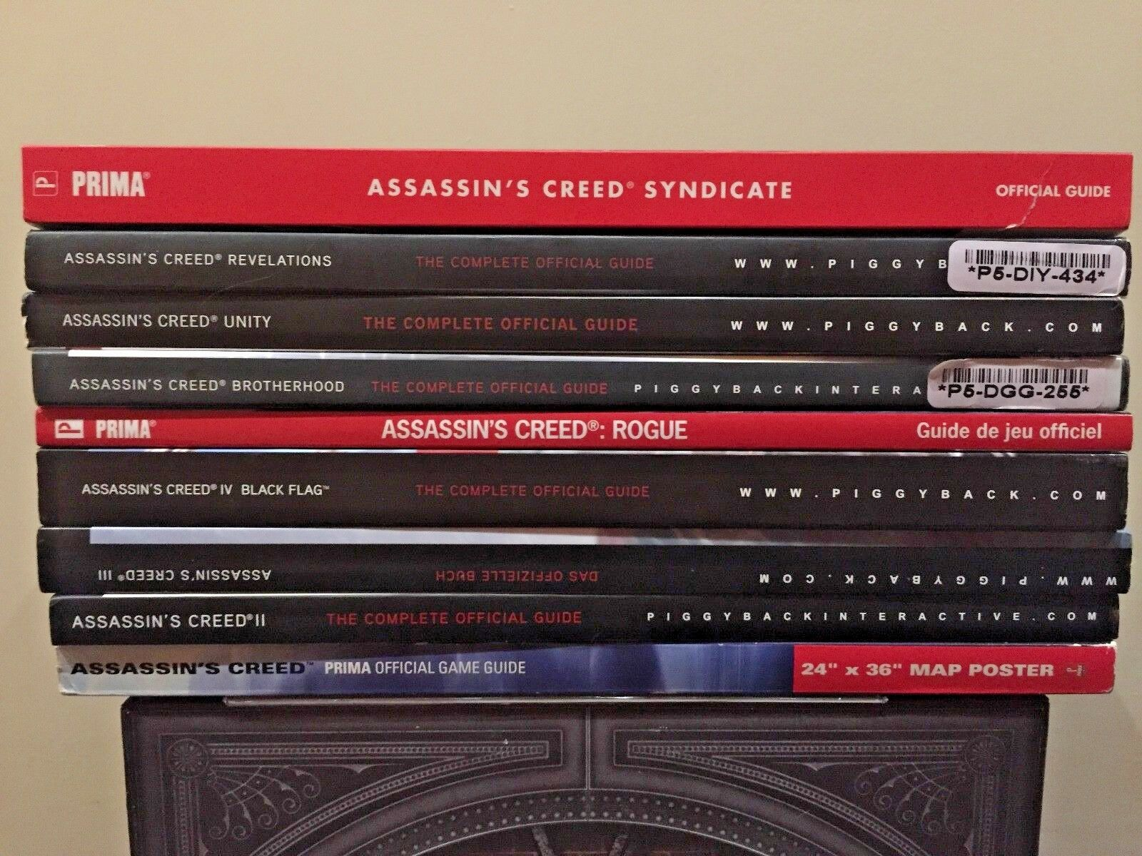 Assassin's Creed: Prima Official Game Guide Book and Map Lot 9 Book