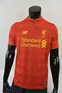 894de3c3b The Reds New Balance Liverpool FC 2016-2017 Home Football Shirt ...