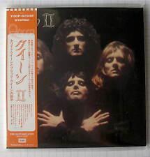 QUEEN - II REMASTERED JAPAN MINI LP CD OBI NEU RAR! TOCP-67342