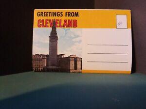 Vintage-FoldOut-Postcard-View-Book-Souvenir-Cleveland-Ohio-1960s-142