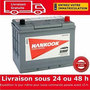 Hankook-57029-Batterie-de-Demarrage-Pour-Voiture-12V-70Ah-257-x-172-x-220mm