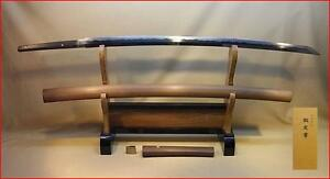 Japanese-Samurai-real-sword-Katana-sharp-steel-blade-Shirasaya-Nobushige-antique