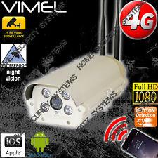 4G Wireless Security Camera GSM Farm Alarm Live View CCTV Outdoor Phone 3G