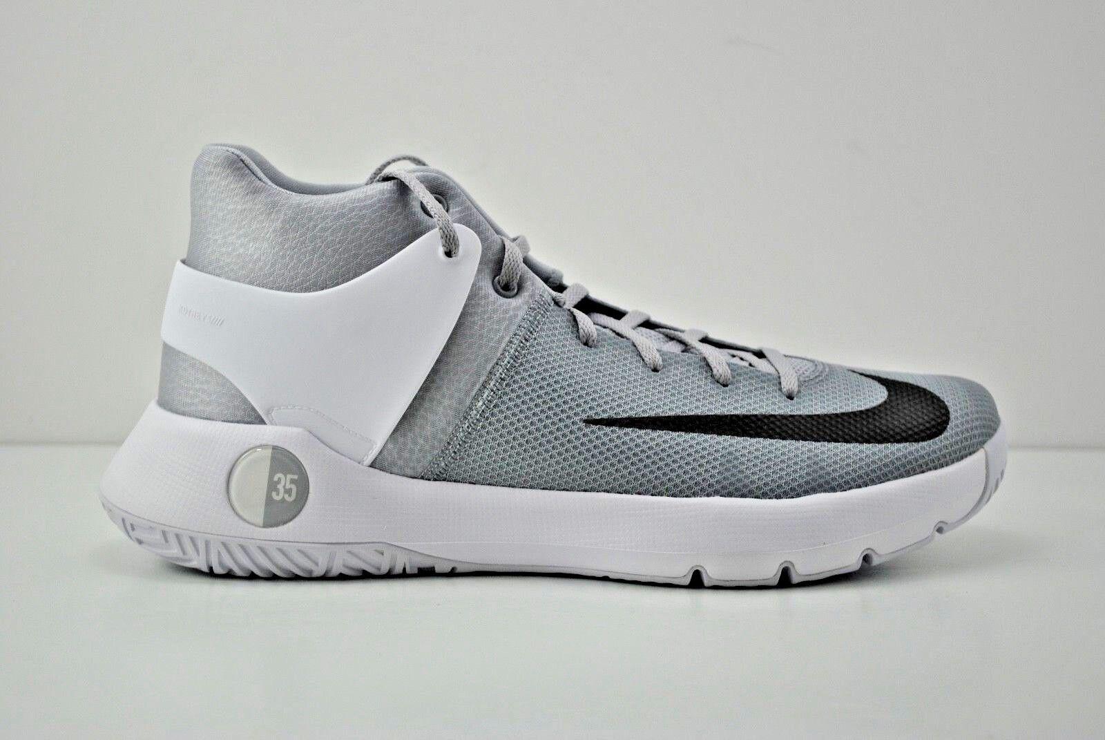 2c382627103 Nike Men s KD Trey 5 IV TB Basketball Shoes - Wolf Grey black-white ...