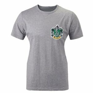 Harry-Potter-College-Slytherin-Snake-Design-Women-039-s-T-shirt-Graphic-Tee-Tops