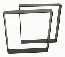 Tischbeine Stahl Industriedesign Bankkufen Bankgestell 40 x 40 x 6