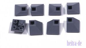 Lego - 8 X Dachecke Invers 45 Degrés 2x2 Gris Foncé/dachstein/3676 Article Neuf-afficher Le Titre D'origine Ipkonlro-07164523-834399138