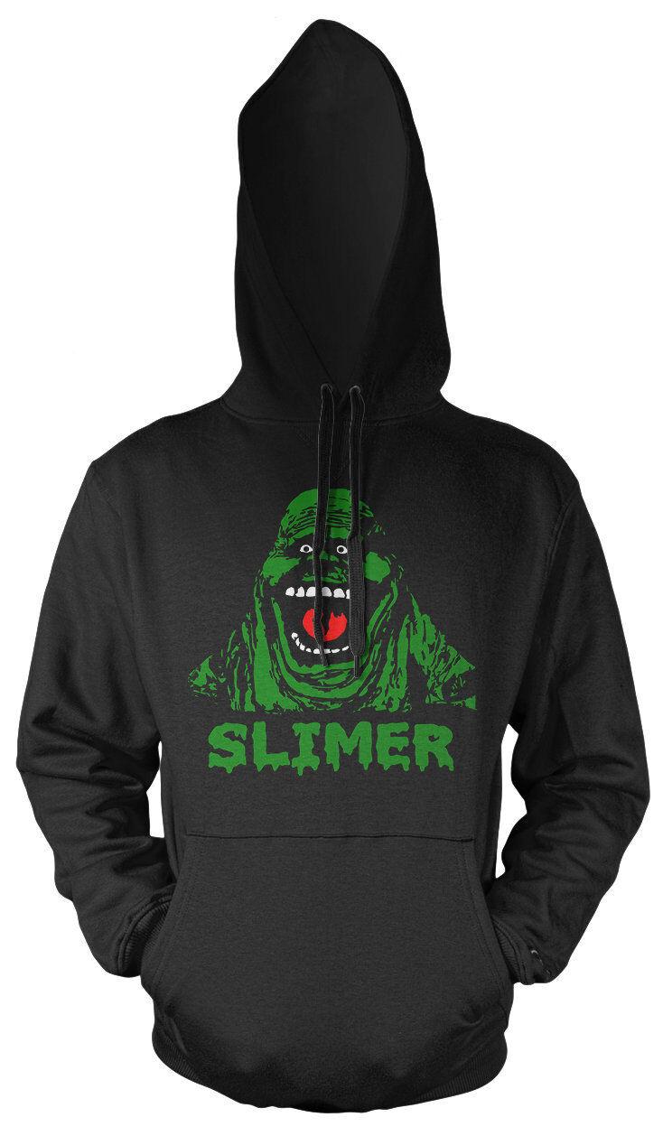 Slimer Kapuzenpullover | Ghostbusters 80er Geisterjäger Fun Kult | M2