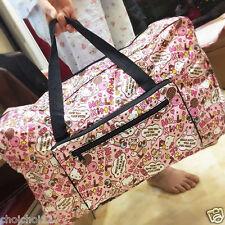 Hello Kitty Travel Big Foldable Waterproof Luggage Bag Carry-On Duffle Bag KK794